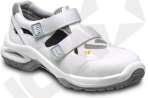 VD 5000 ESD hvid sandal S1 NB