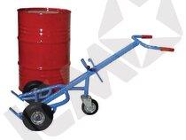 Tromlevogn m/luft gummihjul inkl. støttehjul