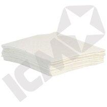 Hvide værkstedsklude, 40x40 cm, 10 kg