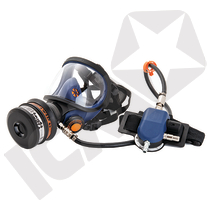 SR 200AL-A helmaske t/trykluft, pc rude