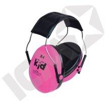 Kid neon rosa ørekop (Førpris 181,-)