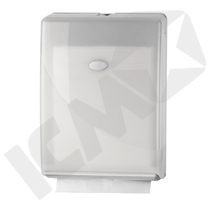 Dispenser t/håndklædeark, Multifold/C-fold, hvid