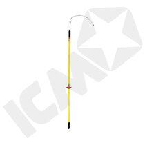 Isoleret redningsstok - stor krog 90 kV
