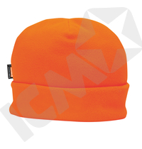 Hi-Viz orange Fleece hue med Insulatex™ for