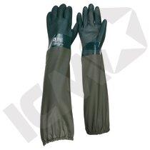 PVC-handske 60 cm, str. 10