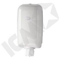 Dispenser t/centertrækrulle, Mini, hvid