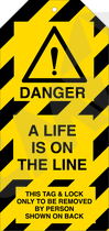 Tag-E-A life is on the line pk/10stk