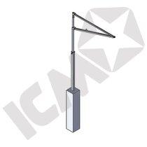 Bluestar RJ200 Maxi Davit arm t/beton