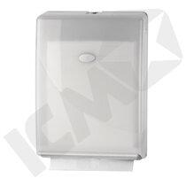 BlueStar Dispenser t/håndklædeark, Multifold/C-fold, hvid