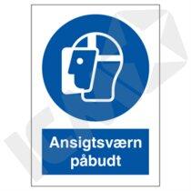 P216PA4 Ansigtsværn påbudt  A4
