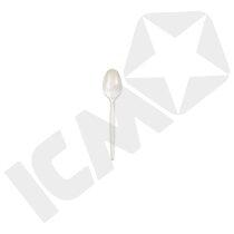 Teske, hvid plast 11 cm, 8x250 stk