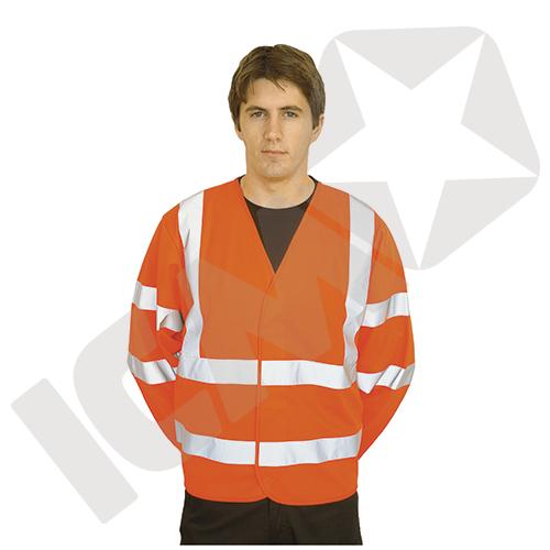 Portwest Trafikjakke med Ærmer EN 20471 kl 3 Orange