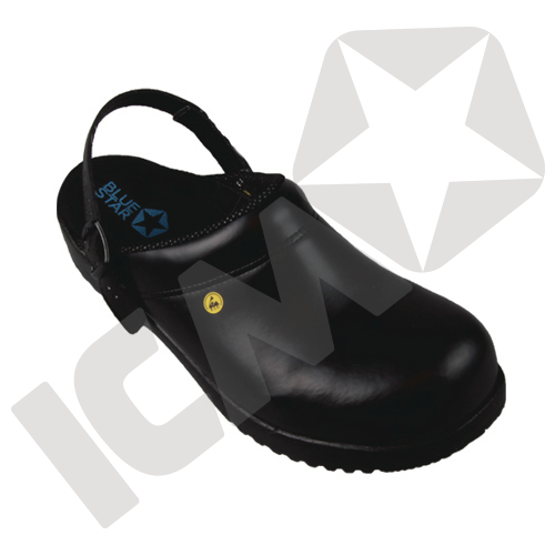 BlueStar SafetyStep 150 med Fast Hælrem Sort