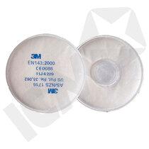 3M 2135 P3 filtre m/bajonet, 10 par