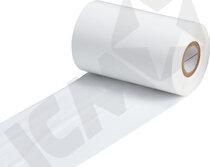 Farvebånd hvidt 110 mm x 300 mtr
