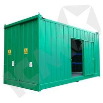 Miljøcontainer til Tromler & IBC + Arbejdsplads