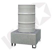 Lacont Opsamlingskar Galvaniseret Stål & Rist 1 Tromle