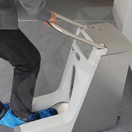 Hygomat Dispenser til Skoovertræk Cleanroom