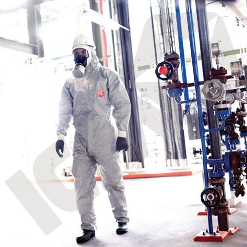 Dupont Tychem 6000 F Dragt med Sokker