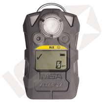 MSA ALTAIR 2X H2S 5 ppm/10 ppm m/vibrator