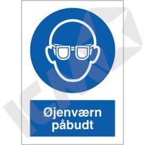 P202PA4 Øjenværn påbudt  A4