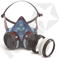 Moldex 5000 A2-P3 D engangshalvmaske, M/L
