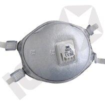 3M 9925 FFP2D Svejsemaske med Ventil 10 stk