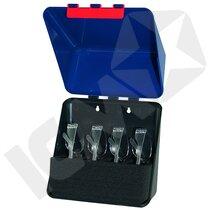 Secu-Box Midi Blå Opbevaring Til 4 Briller